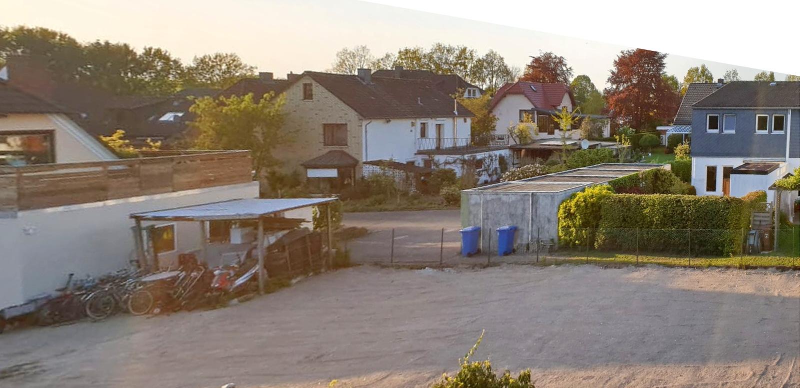 Das Grundstück ist eingeebnet© Foto: Hans-Dieter Heins