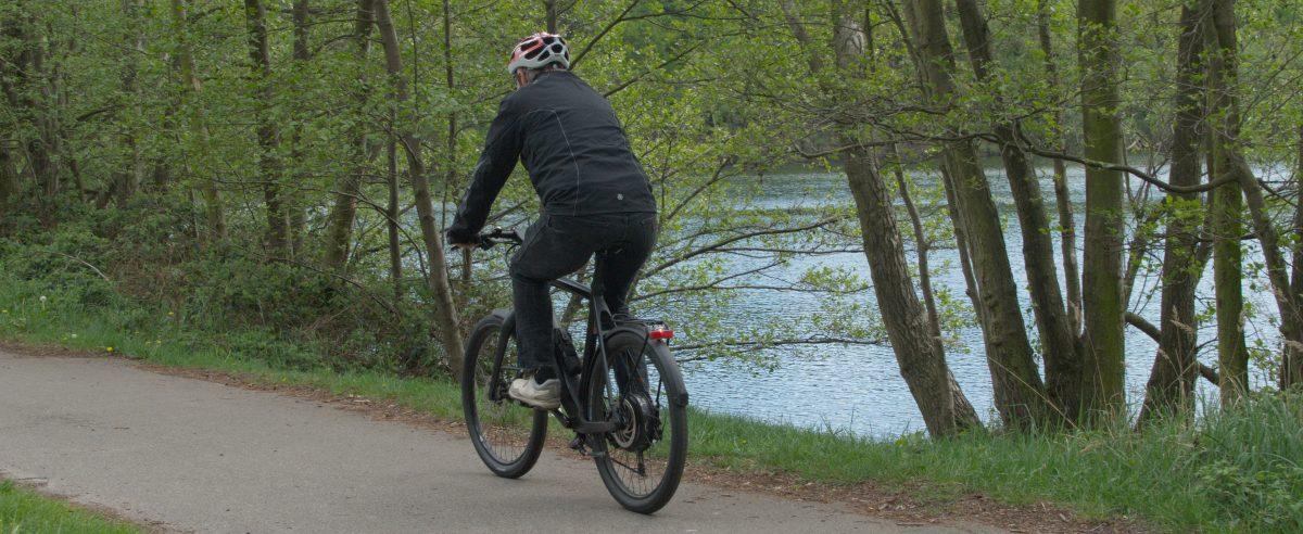 Unterwegs mit dem Fahrrad - Foto: © Katharina Hansen-Gluschitz