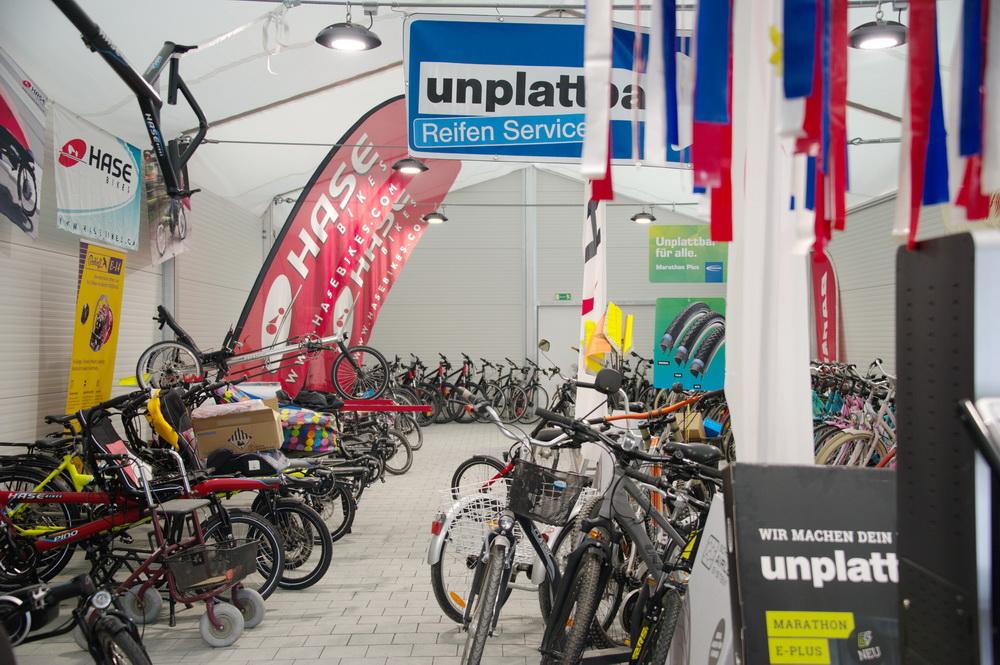 Viele neue Räder stehen zur Verfügung © Foto: Katharina Hansen-Gluschitz