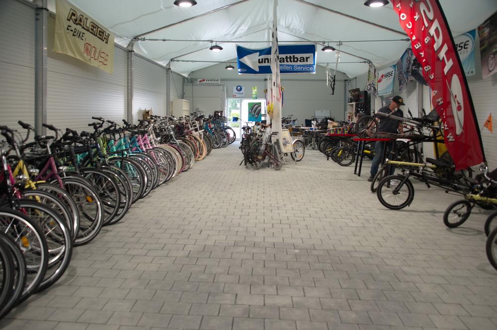 Kinderräder Jugendräder Damenräder Herrenräder Liegeräder und Tandems Transporträder Einräder © Foto: Katharina Hansen-Gluschitz