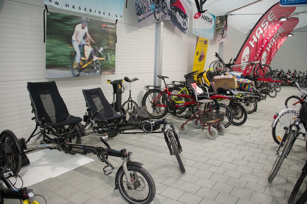 Viele Spezialräder im Angebot © Foto: Katharina Hansen-Gluschitz