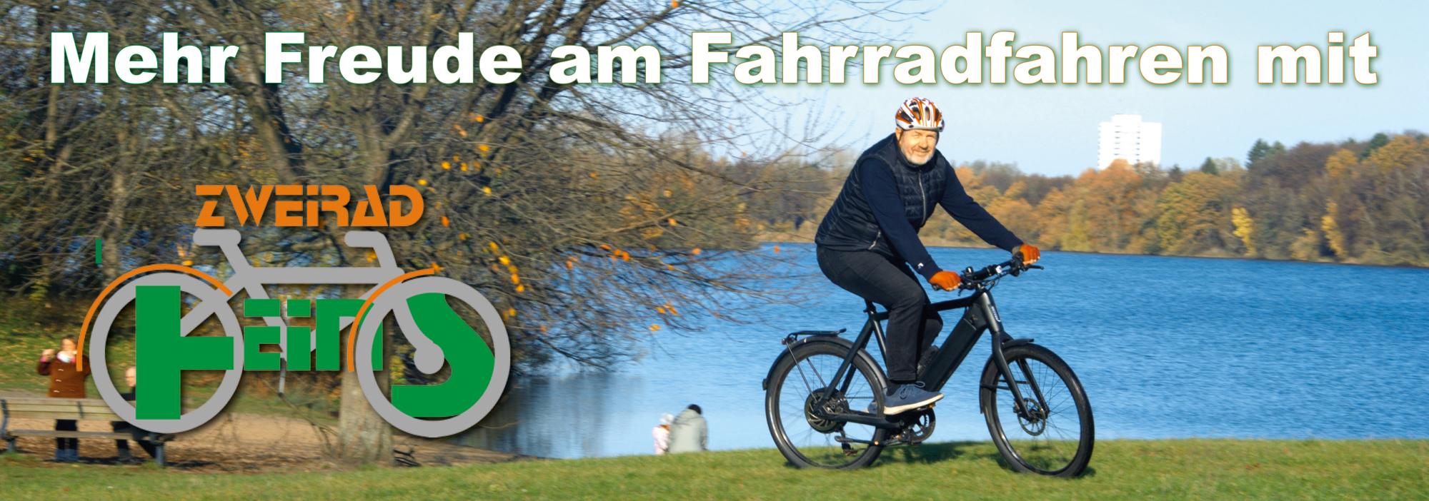 Mehr Freude am Fahrradfahren mit Zweirad-Heins © Foto: Katharina Hansen-Gluschitz