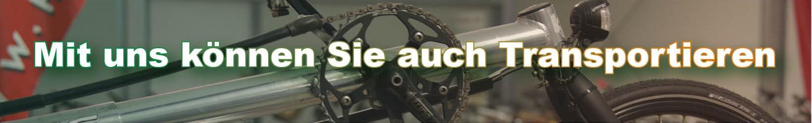 Transporträder bei Zweirad-Heins - Foto und Grafik: Katharina Hansen-Gluschitz