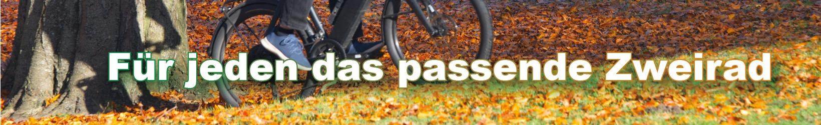 Für jeden das passende Zweirad - Foto und Grafik: Katharina Hansen-Gluschitz